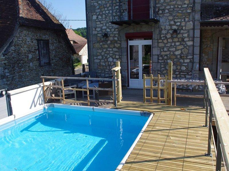 Location de vacances dans le Lot a Puybrun, location de vacances à Autoire