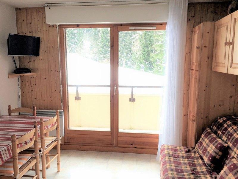 TER-CERF-04 : Studio avec vue sur les pistes, casa vacanza a Saint Jean Aulps