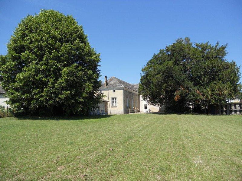 La ferme de deux Ifs :  Gîte 3 étoiles  (11 personnes - 5 chambres) – semesterbostad i Les Ormes