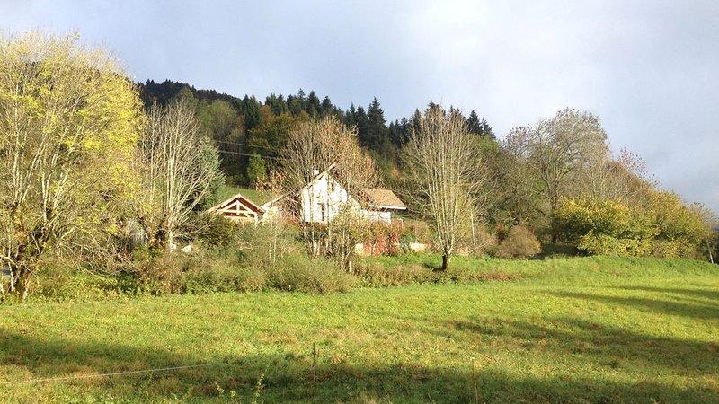 Maison très  calme, vues totales et nature à St Hugues Coeur Massif Chartreuse, holiday rental in La Sure en Chartreuse