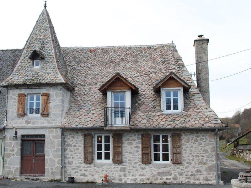 GITE DE CARACTERE SURPLOMBANT LE LAC ST ETIENNE CANTALES A  500M, location de vacances à Boisset