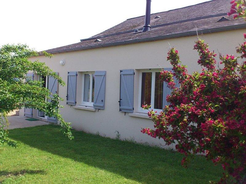 Gîte entre Loire, vignoble et chateaux, holiday rental in Rigny-Usse