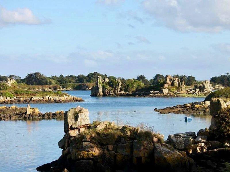 Vacances paradisiaques au coeur de l'Ile de Bréhat, vacation rental in Ile-de-Brehat