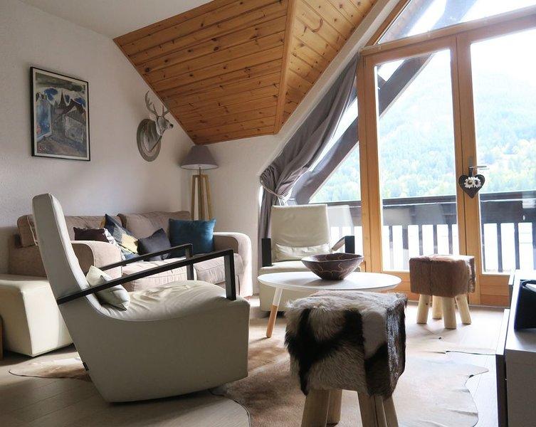 Très beau Duplex T3 à Monetier les Bains, holiday rental in Le Monetier-les-Bains