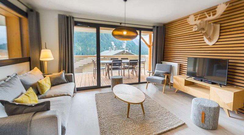 Appartement 6 pers - moderne, central, ski aux pieds, location de vacances à Abondance