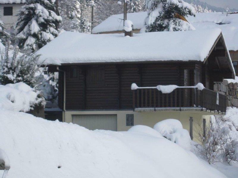 chalet bois confortable , wifi, village touristique, vue sur les montagnes, vacation rental in Le Thillot