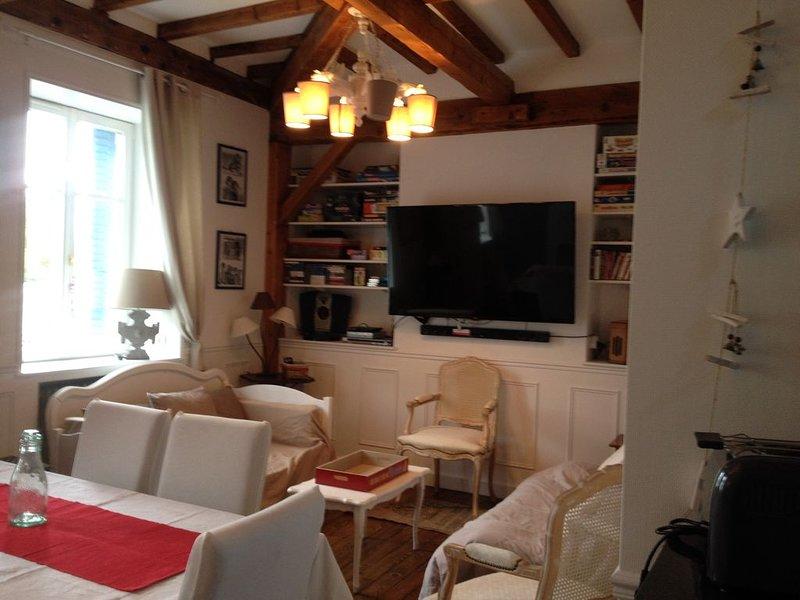 Appartement 5* de 4 à 7 pers. dans maison de maître quartier thermal VITTEL, holiday rental in Neufchateau
