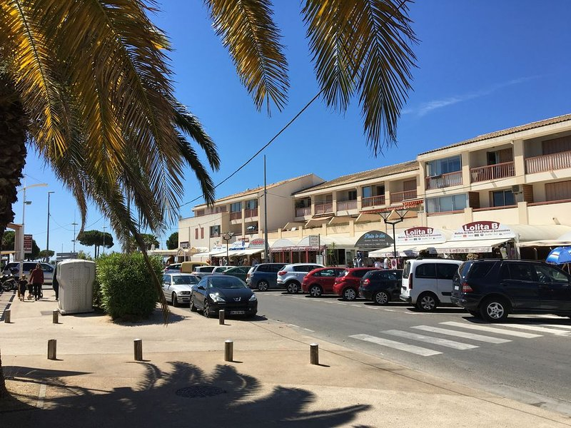 Appartement T3 avec balcon, holiday rental in Tamaris-sur-Mer