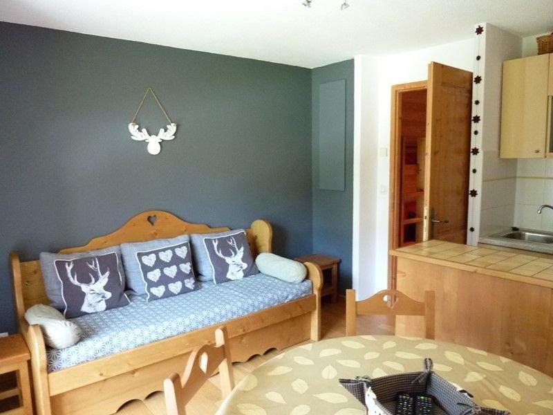 TER-CERF-16 : 2 pièces pied des pistes, décoration soignée, casa vacanza a Saint Jean Aulps