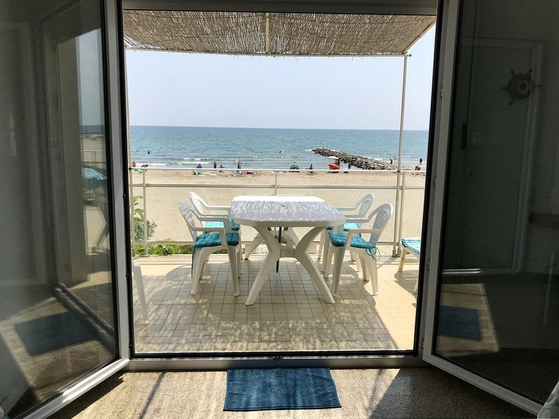 Appartement avec vue panoramique sur la mer, location de vacances à Carnon