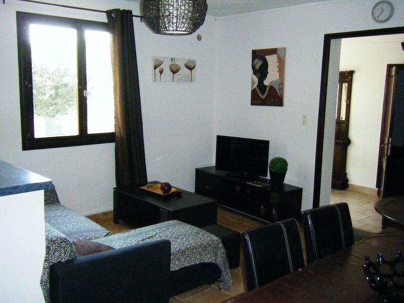 Grand appartement terrasse avec vue imprenable sur le golfe du Valinco., holiday rental in Belvedere-Campomoro
