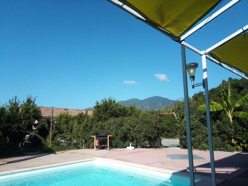 1 Chambre d'hôtes en corse 400 € la semaine, holiday rental in Canale-di-Verde