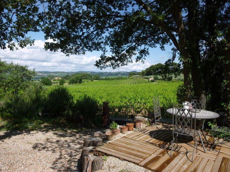 Jacuzzi toute l'année et relax en pleine nature maison provencale pour 3, aluguéis de temporada em Drome