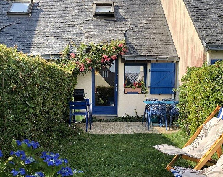 La petite maison bleue de la plage, alquiler de vacaciones en Larmor-Baden