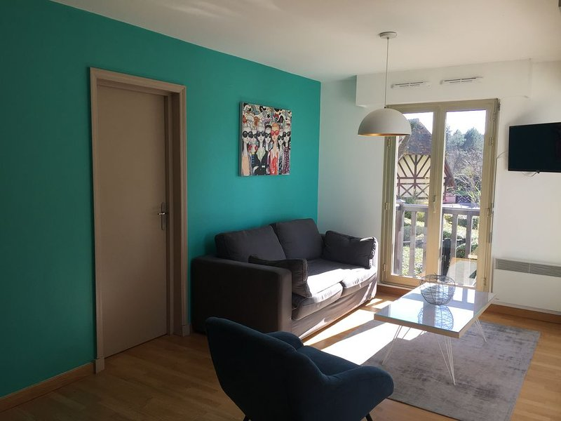 Deauville, vue mer, appartement 2 chambres, 6 personnes, wifi – semesterbostad i Deauville City