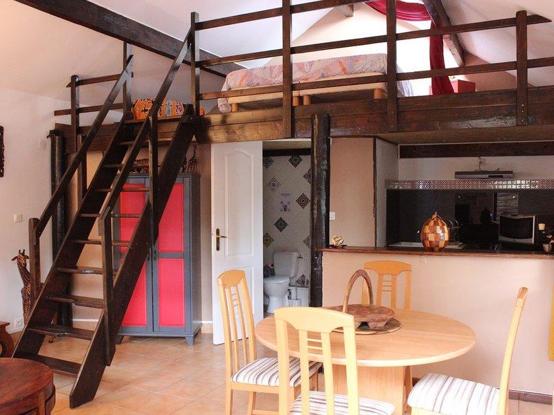 Gîte le 'Safari' proche de Guedelon, St Fargeau, Toucy, holiday rental in Villiers-sur-Tholon