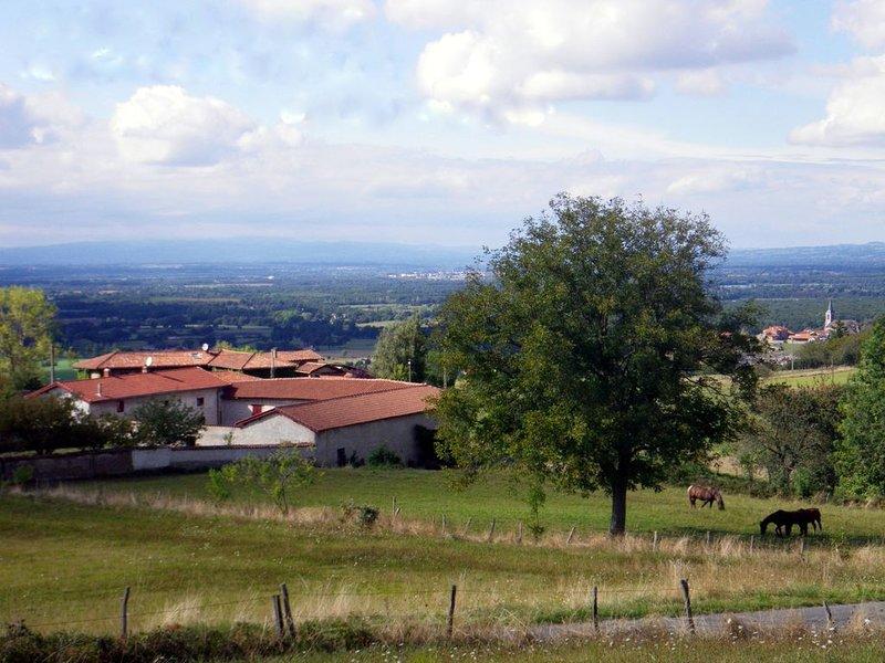 2 gîtes indépendants dans le hameau des Granges, location de vacances à Montbrison