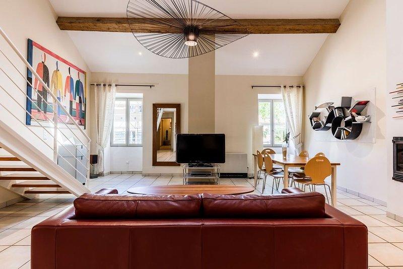 Le loft esprit design, holiday rental in Canet