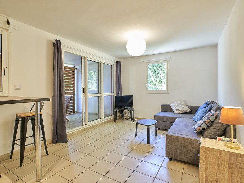 Appart 2 chambres cosy proche plages et centre, casa vacanza a Bois d'Olives