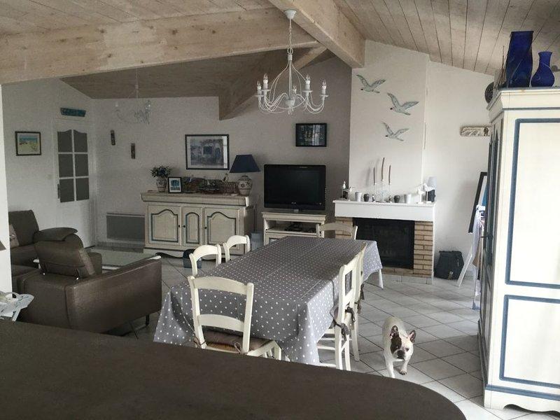 Belle maison style retais, holiday rental in Le Bois-Plage-en-Re