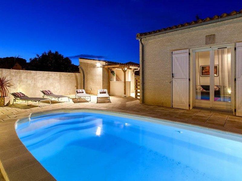 Villa pour des vacances idylliques près de la Cité, Ferienwohnung in Trebes