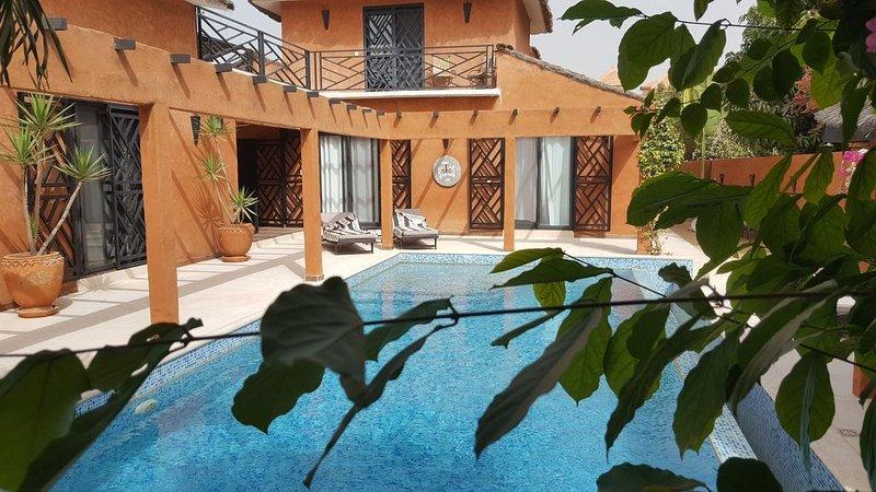Villa au calme proche de la mer - équipée à l'Européenne, location de vacances à Ngaparou