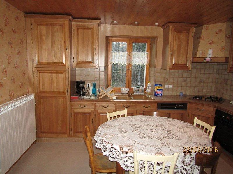 appartement dans maison, location de vacances à Les Rousses