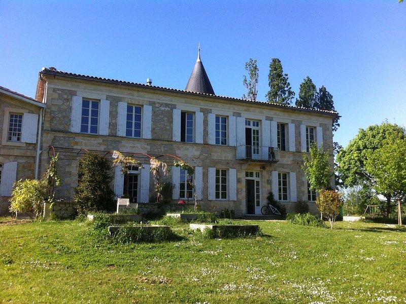 Grande maison dans le Bordelais, holiday rental in Villenave-de-Rions