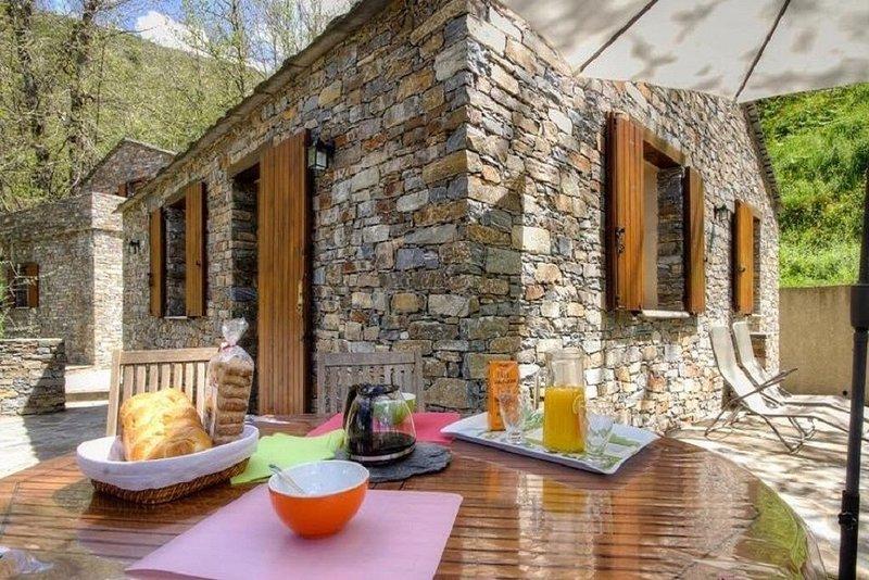 GÎTE, HAUTE CORSE, CASTAGNICCIA, CASABIANCA, location de vacances à Castello-di-Rostino