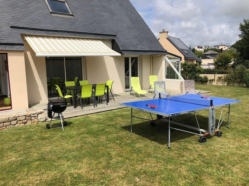 Maison pour 7 personnes maximum, location de vacances à Lampaul-Plouarzel