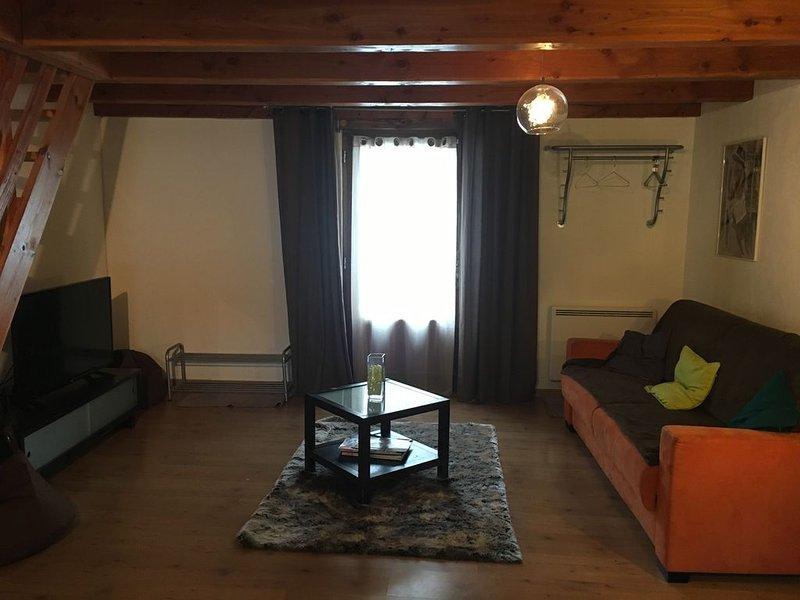 ----  Duplex beau standing -----, location de vacances à Saint Andre de Valborgne