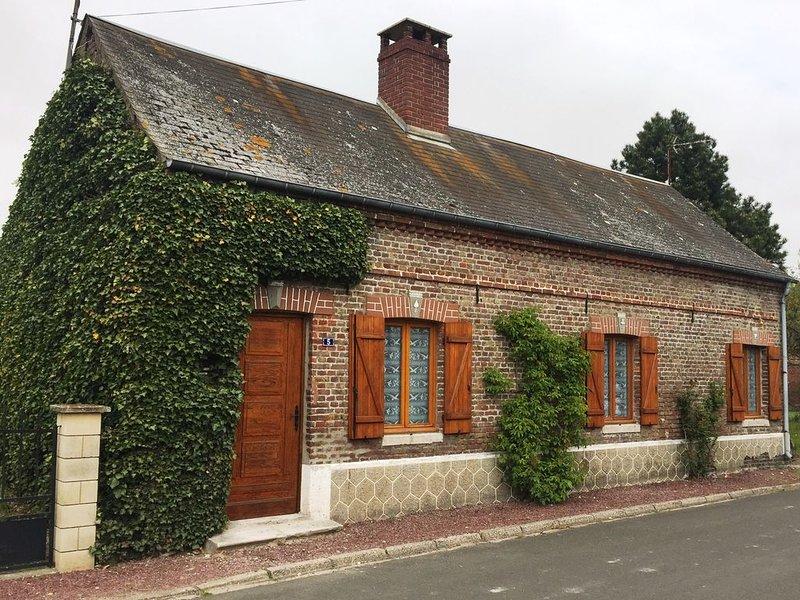 La maison 'Les Roses', holiday rental in Estreboeuf