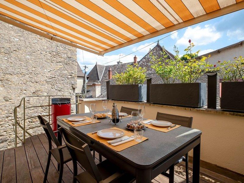 Maison 2 chambres au coeur des vignes, holiday rental in Saint-Sernin-du-Plain