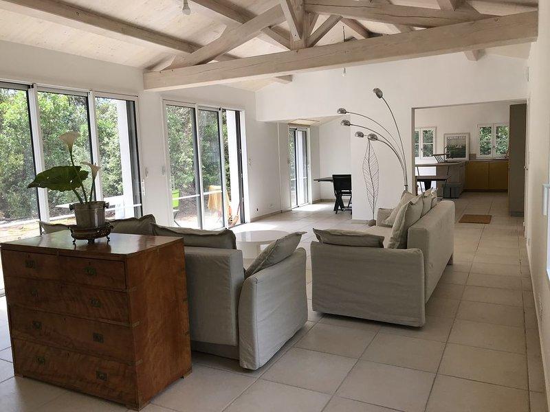 Villa neuve 06/2019 à Noirmoutier le Bois de la Chaise 6 chambres 3 sdb, alquiler de vacaciones en Noirmoutier en l'Ile