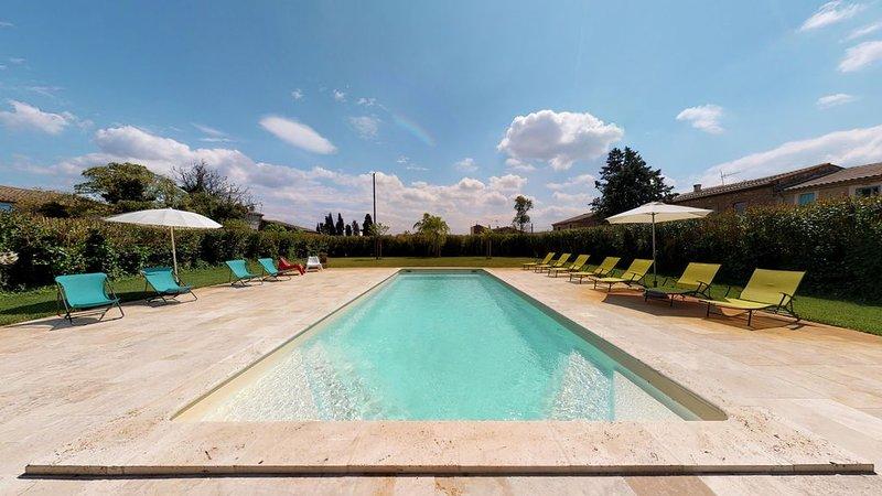 Domaine Paul Huc, appartement haut de gamme au coeur des corbières, holiday rental in Fabrezan