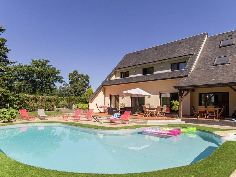 Le confort, le charme et l'aventure aux pied du Mt St Michel., holiday rental in Saint-Martin-des-Champs