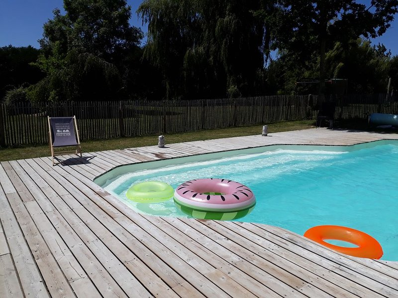 Maison entre mer et campagne, holiday rental in Saint-Alban