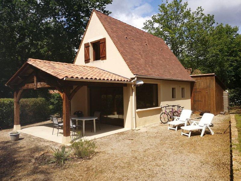 Gîte proche de Sarlat la Canéda, aluguéis de temporada em Grolejac