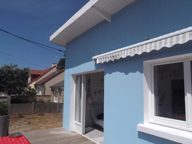 La maison bleue ...., alquiler de vacaciones en Saint-Jean-de-la-Riviere