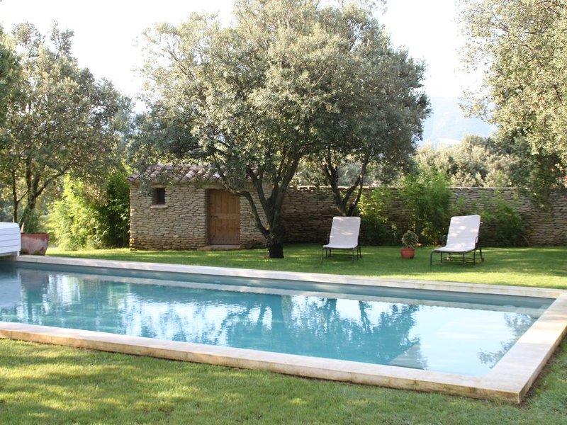 maison avec piscine sur terrain arboré, holiday rental in Saint-Pantaleon