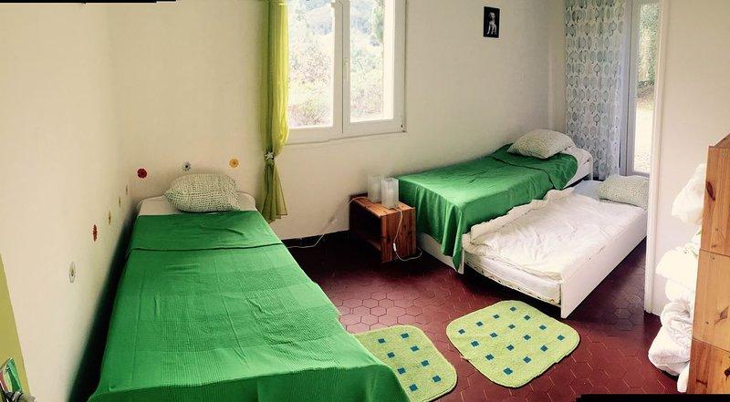 gîte Belle-Vue MONTESQUIEU DES ALBERES, holiday rental in Villelongue-dels-Monts