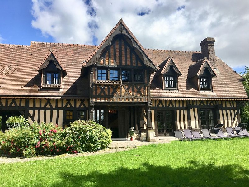 Le manoir de Malaunay, holiday rental in Fontaine-le-Bourg