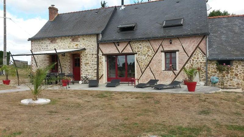 gite de campagne,15 couchages, vacation rental in Segre-en-Anjou Bleu