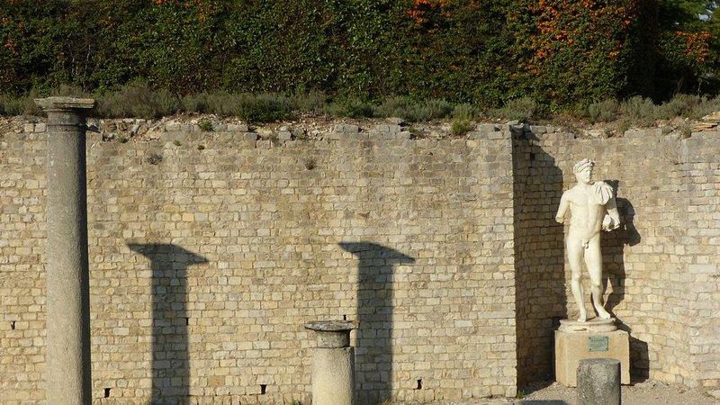 Gallo Roman site in Vaison La Romaine
