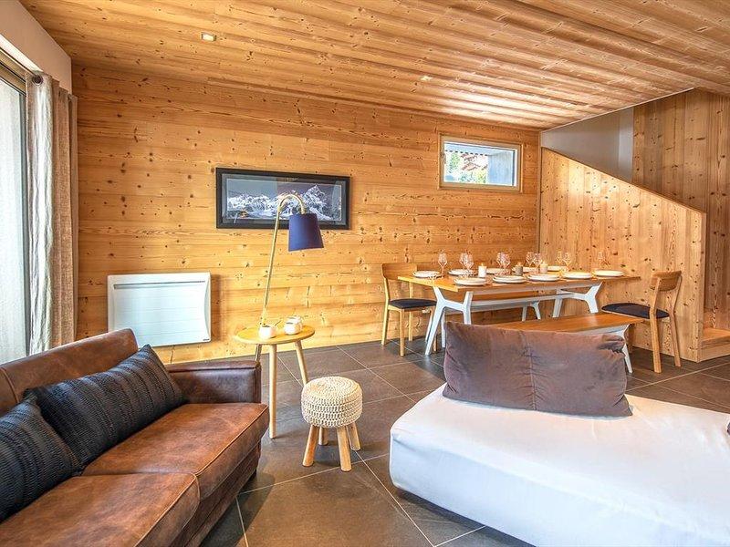 Luxueux Appartement 10pers - duplex, dans le centre, proche des pistes – semesterbostad i Chatel