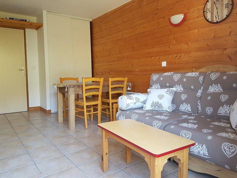 Duplex 4-6 pers (35m2), pied de pistes - Aussois, casa vacanza a Bramans