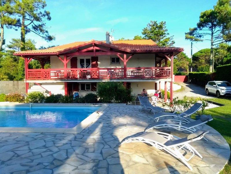 Maison avec piscine sécurisée et plages à pied, vacation rental in Capbreton