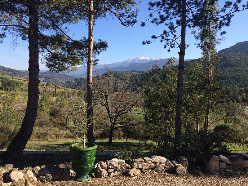 Maison de vacances pour 10 personnes au coeur de la Provence avec piscine – semesterbostad i Eygaliers