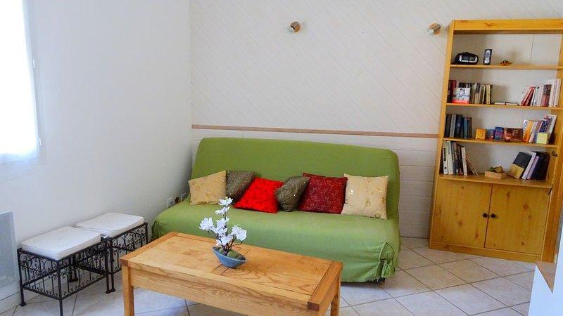 Gîte 40m² au calme,  pleine campagne, holiday rental in Courzieu