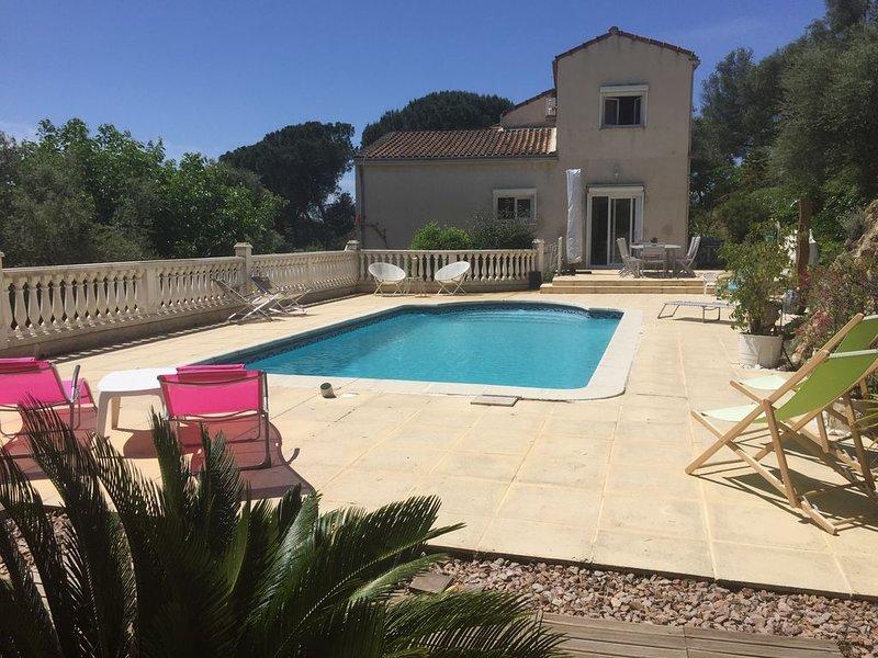 Villa 8 pers dernière dispo juillet tarif en baisse, holiday rental in Sarrola-Carcopino